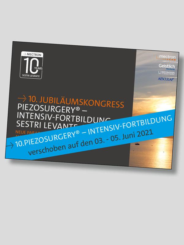 Piezosurgery-Jubiläumskongress